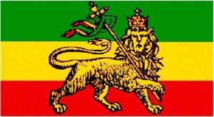 Le lion de Judah, symbole rasta éthiopien