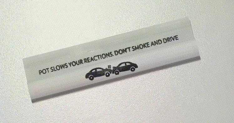 Feuilles à rouler sécurité routière
