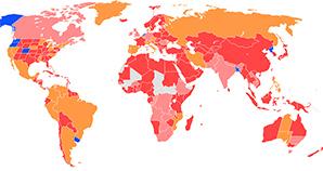 légalisation du cannabis dans le monde