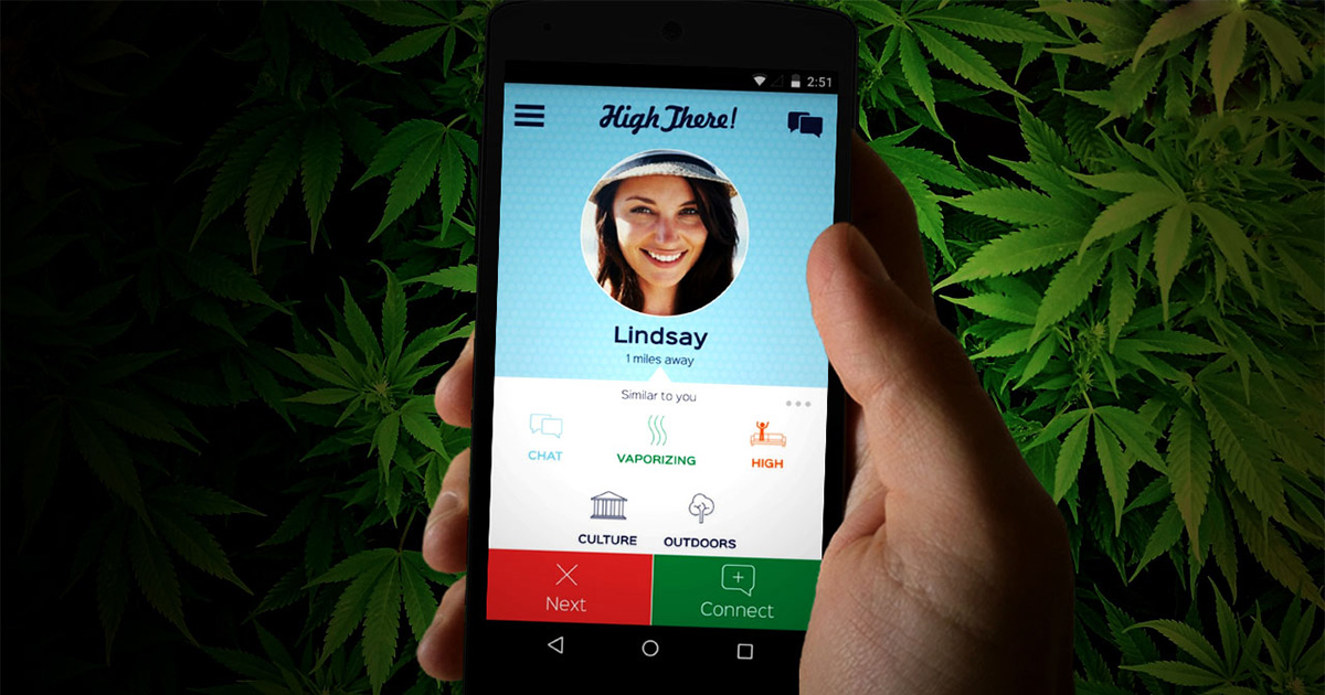 High There, le Tinder de la weed