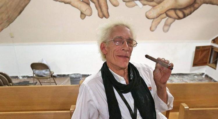 Bill Levin fondateur de l'Eglise du cannabis