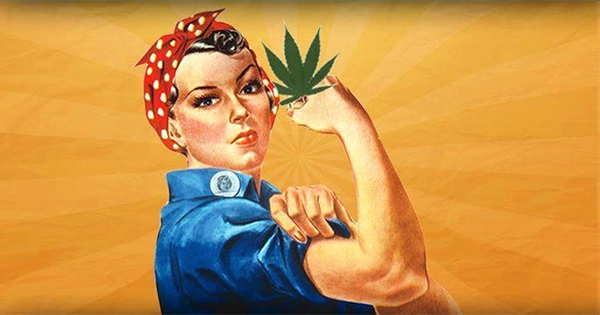 Femme et cannabis