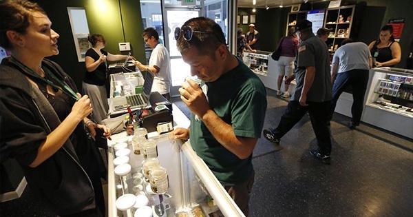 Arrestations liées au cannabis