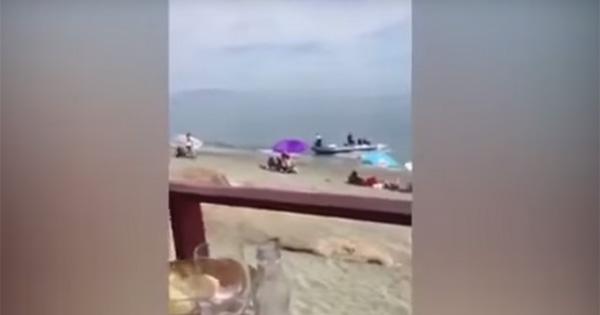 Livraison de cannabis sur une plage en Espagne