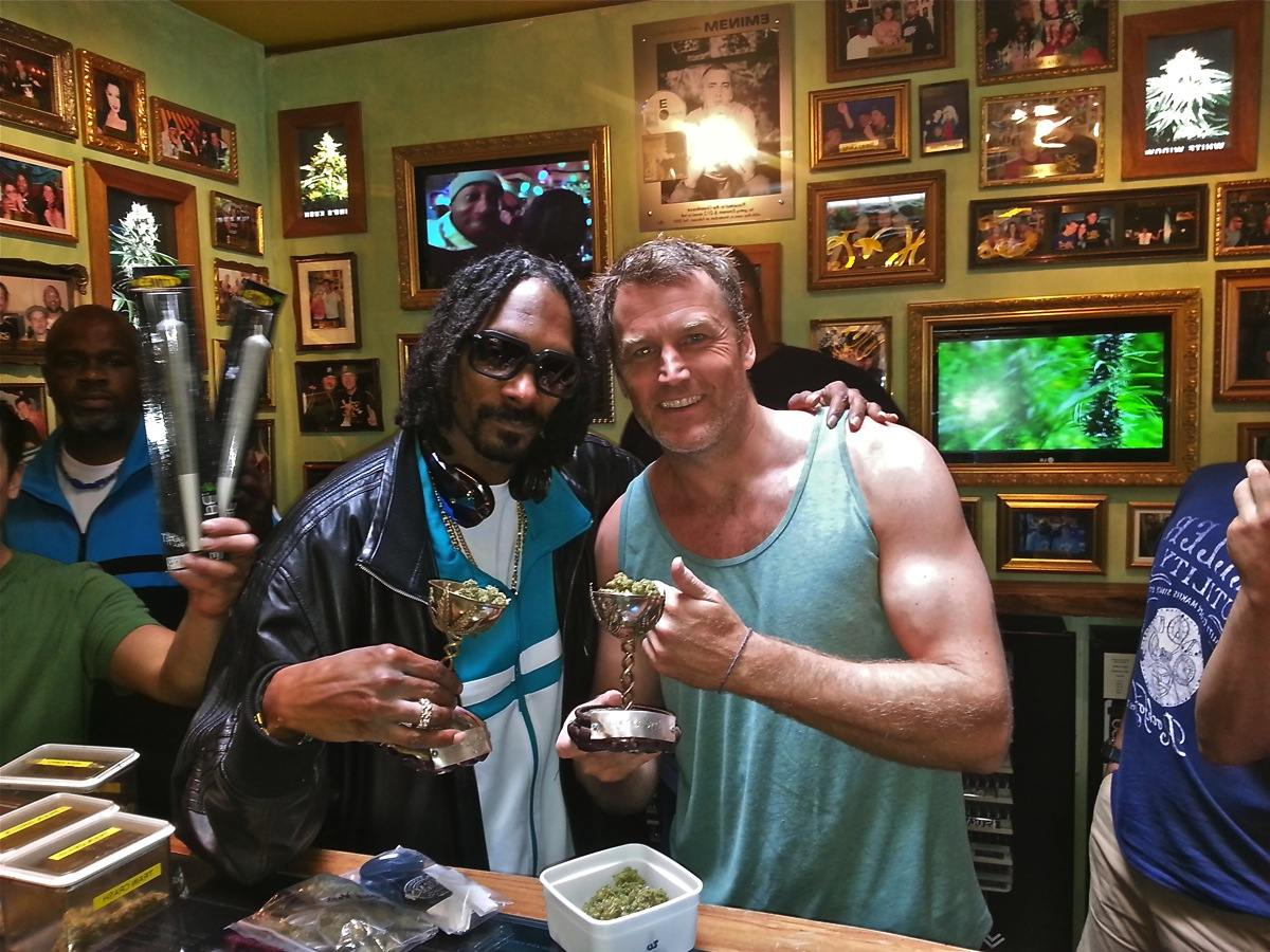 Snoop dogg au coffee Green House