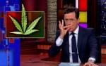 La première église du cannabis moquée par Stephen Colbert