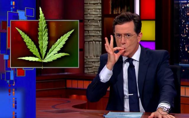 Stephen Colbert se moque de la première église du cannabis