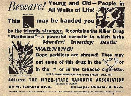 Anti marijuana