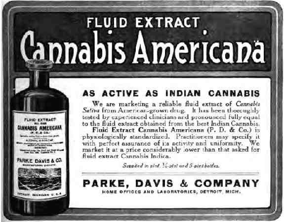 Extrait de cannabis
