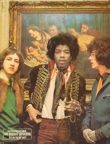 Jimi Hendrix à Amsterdam
