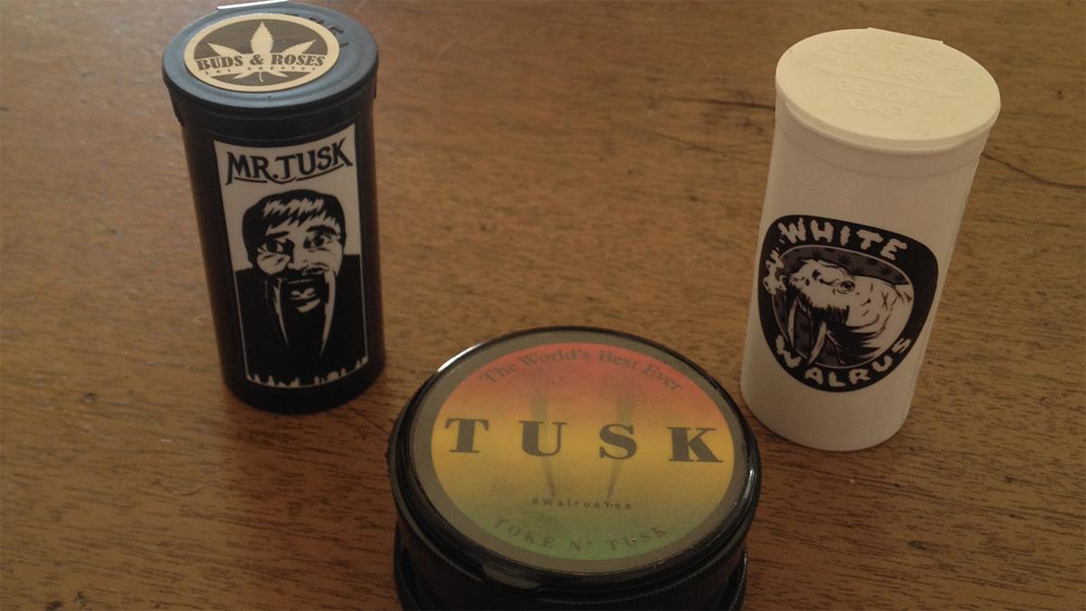 Variété Mr Tusk et White Walrus