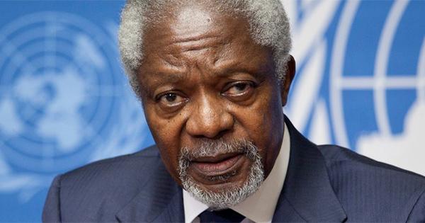 Kofi Annan veut légaliser le cannabis