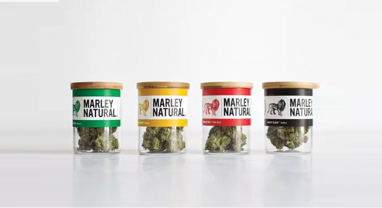 Marque de cannabis Bob Marley