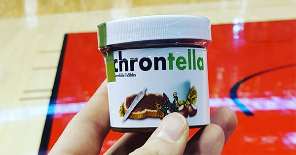 Chrontella, nutella au cannabis