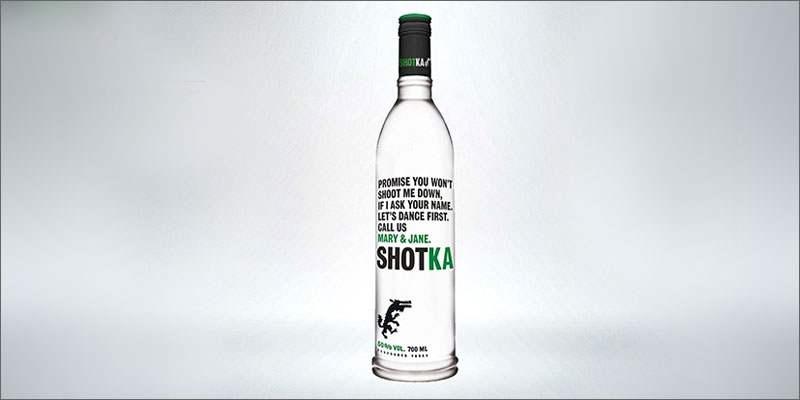 Shotka, la vodka au cannabis