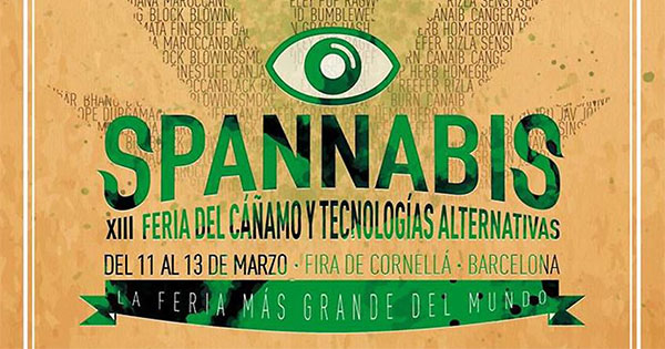 Spannabis de Barcelone 2016
