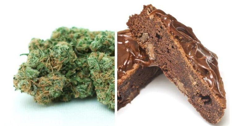 Différences entre fumer et manger du cannabis
