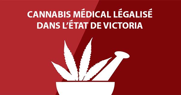 Cannabis médical légalisé dans l'Etat de Victoria