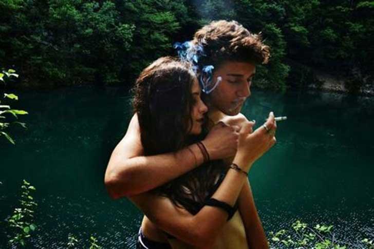 couple fumeur