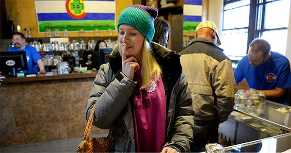 Ventes de cannabis au Colorado en février 2016
