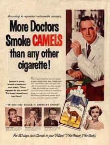 Publicité pro-tabac aux USA