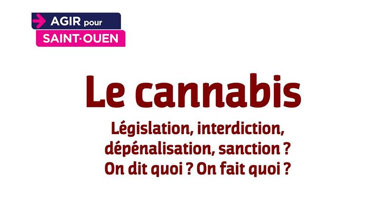 Débat sur le cannabis à Saint-Ouen