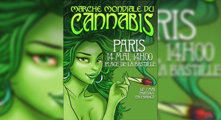 Marche mondiale du cannabis 2016