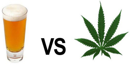 Alcool VS Cannabis