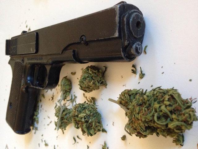 Cannabis VS Gun