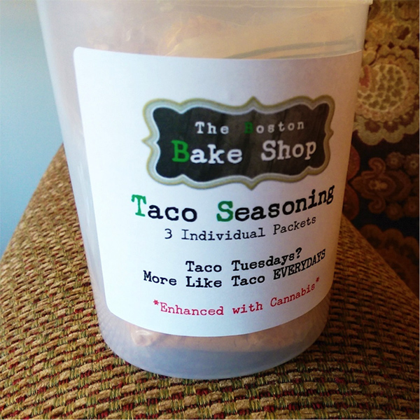 Taco au THC