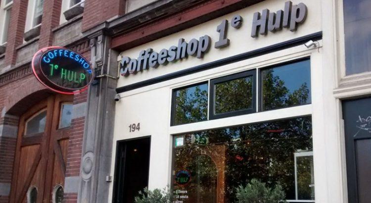 1e Hulp coffeeshop à Amsterdam