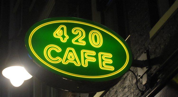 Le coffeeshop 420 Café à Amsterdam