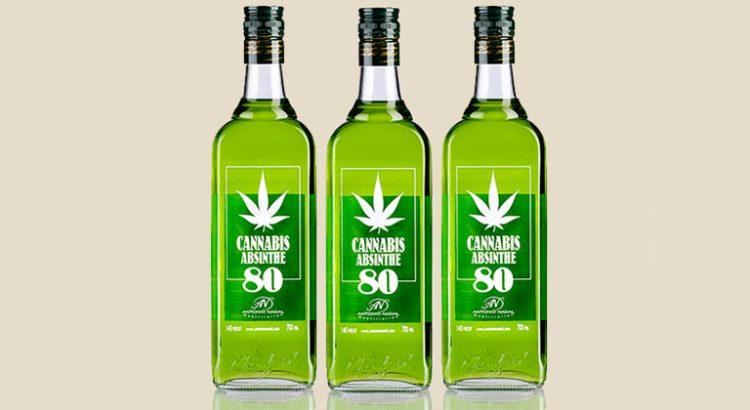 Absinthe au cannabis