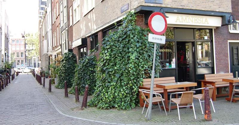 Coffeeshop Amnesia à Amsterdam