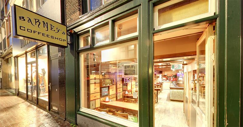 Coffeshop Barney's à Amsterdam