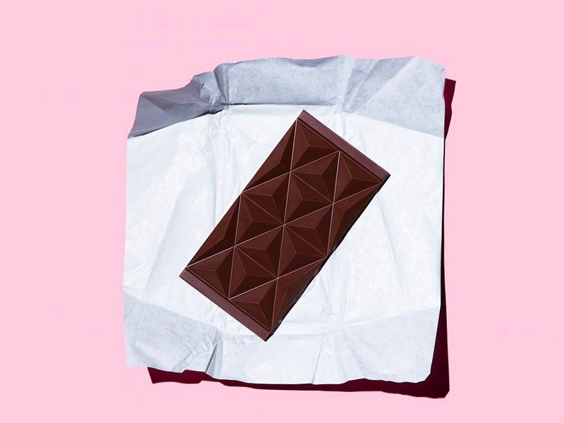 Chocolat infusé au cannabis