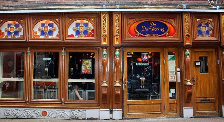 Coffeeshop Dampkring à Amsterdam