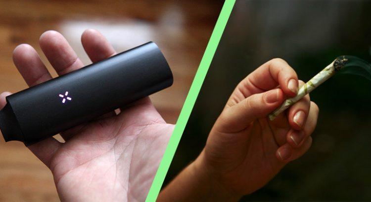 Différences entre vaporiser et fumer
