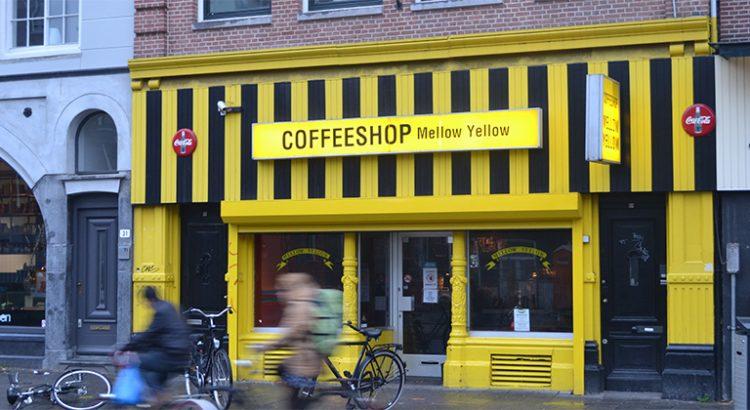 Coffeeshop Mellow Yellow à Amsterdam