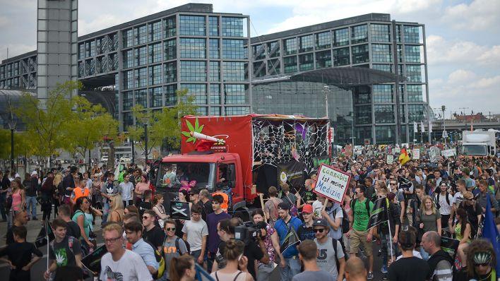 Hanfparade de Berlin