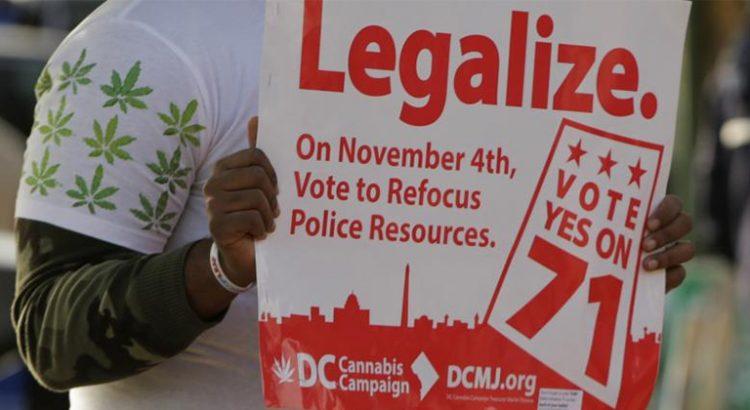 Etats qui voteront pour la légalisation du cannabis en novembre