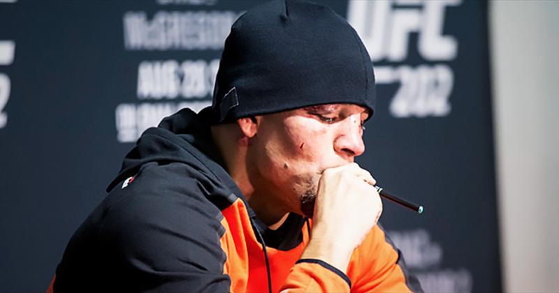 Nate Diaz vape du CBD