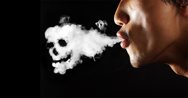 Tabagisme passif du cannabis
