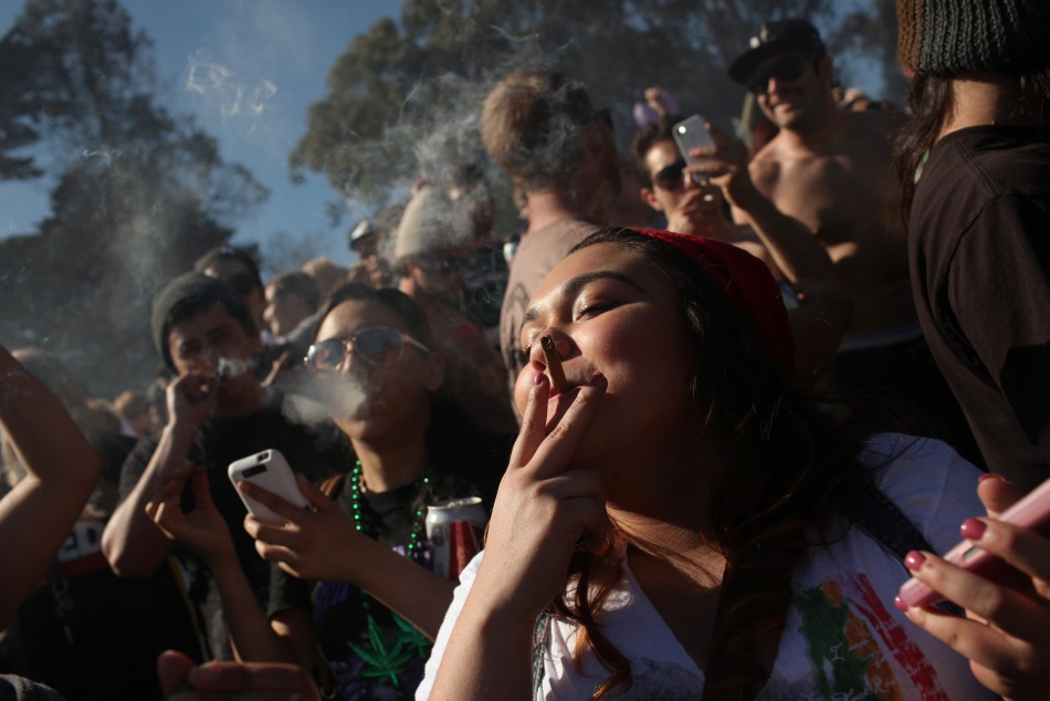 fumeurs cannabis