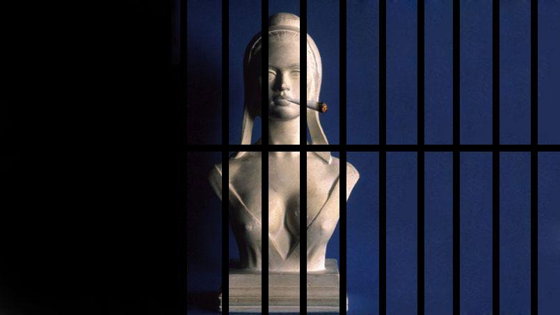 Marianne en prison