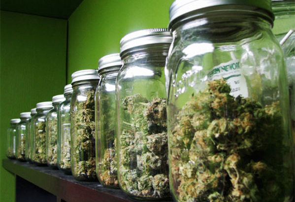 Stockage du cannabis