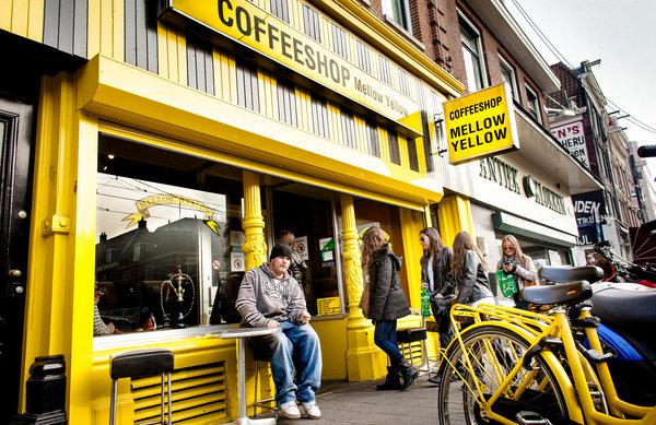 Coffeeshops Mellow Yellow