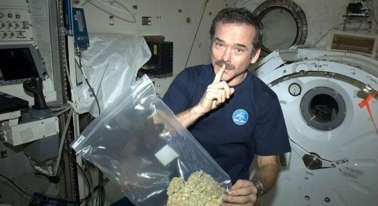 fumer dans l'espace