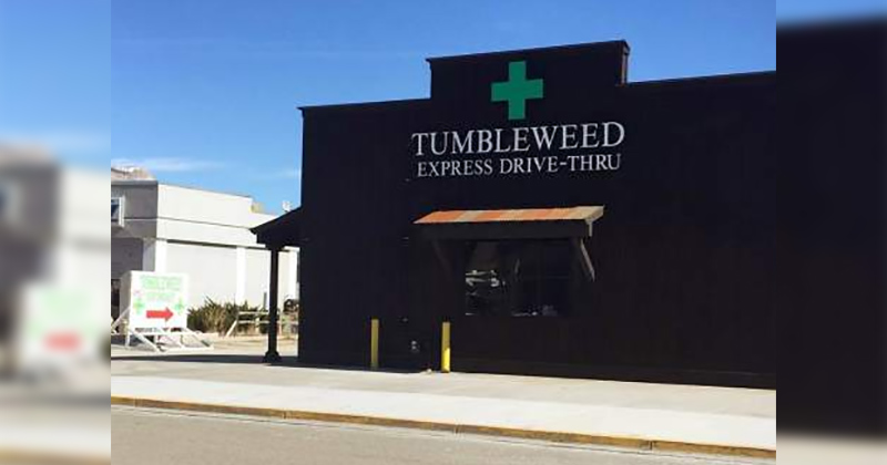 Drive-in du cannabis