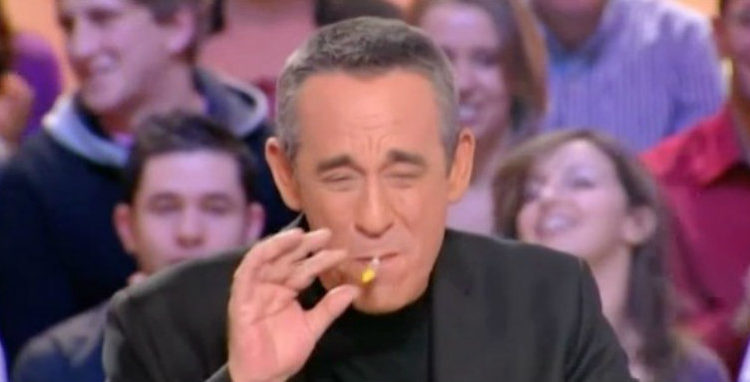 Thierry Ardisson fume toujours des joints